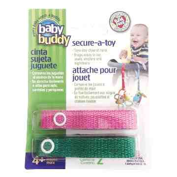 Toy Strap - Pink/Green