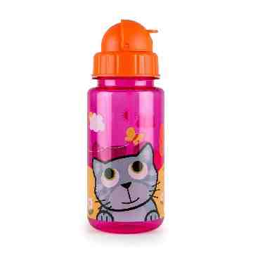 TUMTUM Flip Top Water Bottle Bluebell