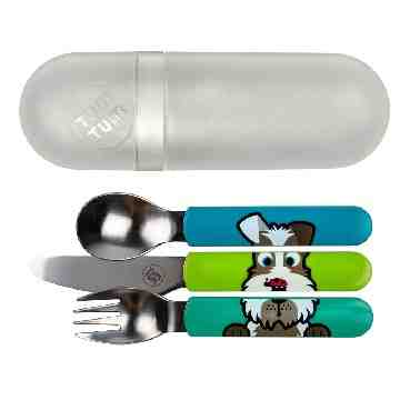 TUMTUM Easy Scoop Travel Cutlery Scruff
