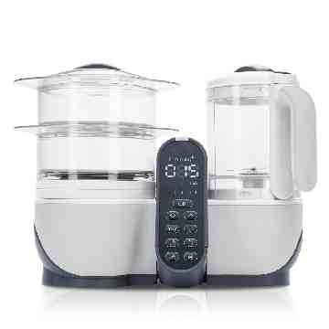 Babymoov Nutribaby Plus Food Processor - Loft White