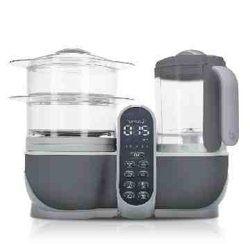 Babymoov Nutribaby Plus Food Processor - Industrial Grey