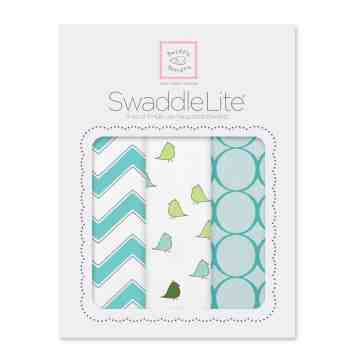 Swaddle Designs Swaddle Lite Chic Turquoise Chevron (Isi 3)