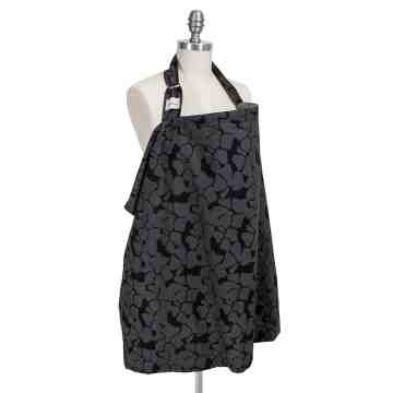 Bebe au Lait Nursing Cover - Organic Midnight