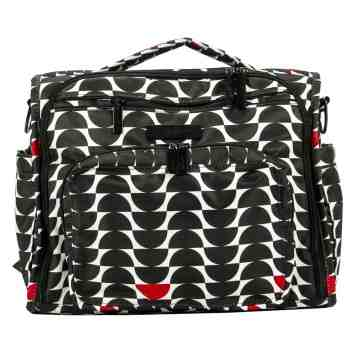 JUJUBE BFF Diaper Bag Black Widow