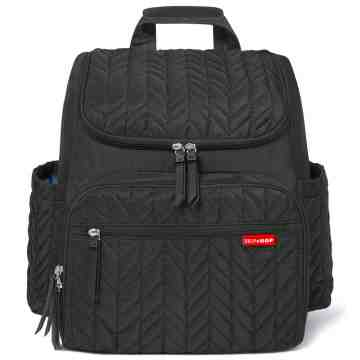 SKIP HOP Forma Diaper Backpack - Jet Black