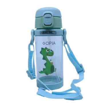 OPIA Tritan Kids Bottle With Strap 350ml - Green