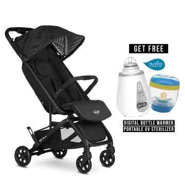 EASYWALKER New Mini Buggy GO - Oxford Black