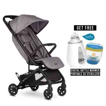 EASYWALKER New Mini Buggy GO - Soho Grey