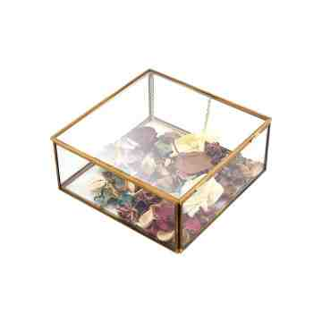 Lumikasa Brass Edge Storage Box Small