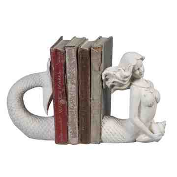Lumikasa Bookends Resin Mermaid