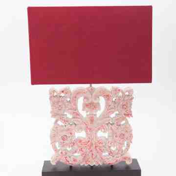 Raveena Table Lamp Red