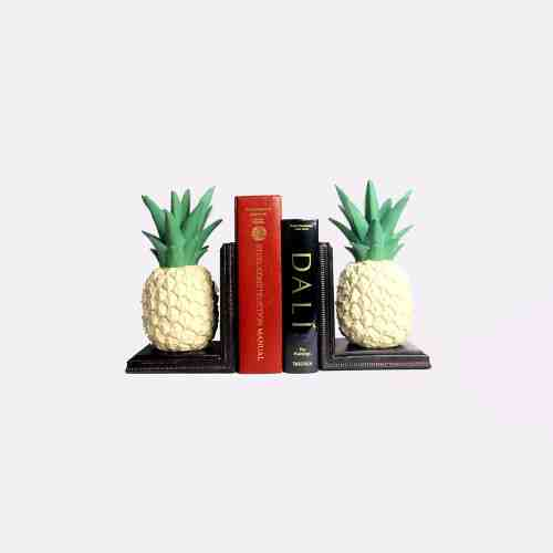 Lumikasa Bookends Chinoiserie Ananas
