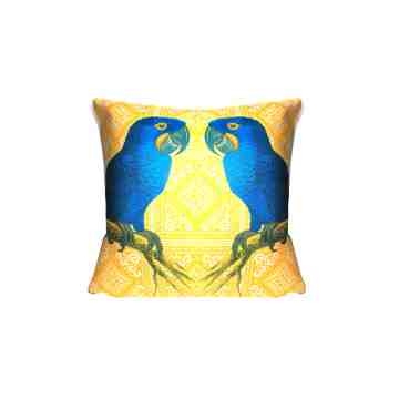 Lumikasa Orn Cushion Cover Perroquet Yolk