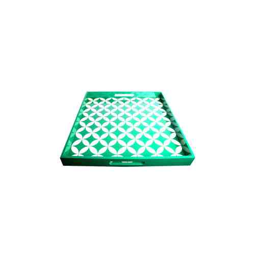 Lumikasa Chino Lacquer Tray Emerald