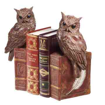 Lumikasa Bookends Resin Owl