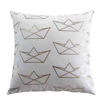 Harriet and Co Sarung Bantal Boat Origami