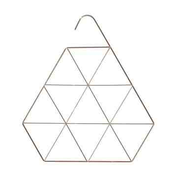 Harriet and Co Accessory Hanger Geometric Rose Gold