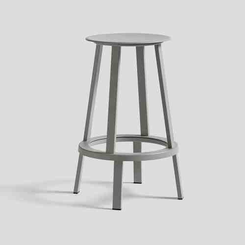 HAY Kursi Bar Revolver Stool Low