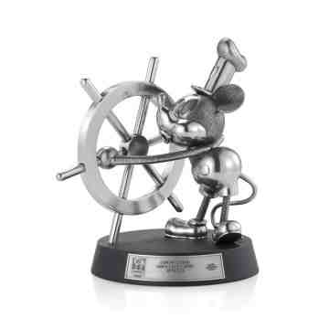 Royal Selangor Limited Edition Mickey Mouse Steamboat Willie Figurine