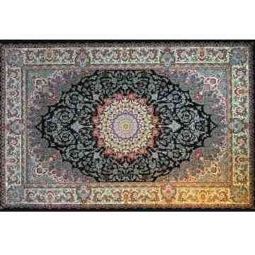 Pasargad Classic Persian Carpet Black Azita