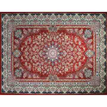 Pasargad Classic Persian Carpet Black Jasmine