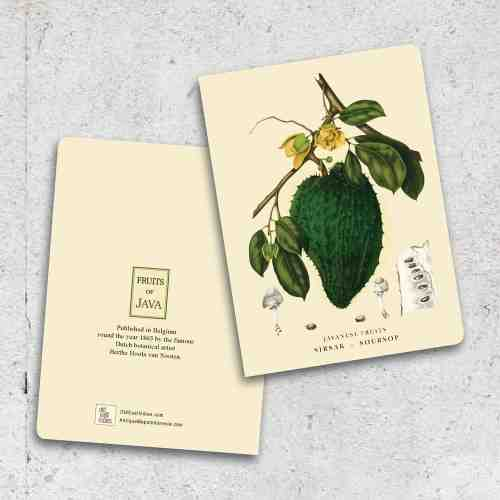Old East Indies Thin Book Soursop - Sirsak