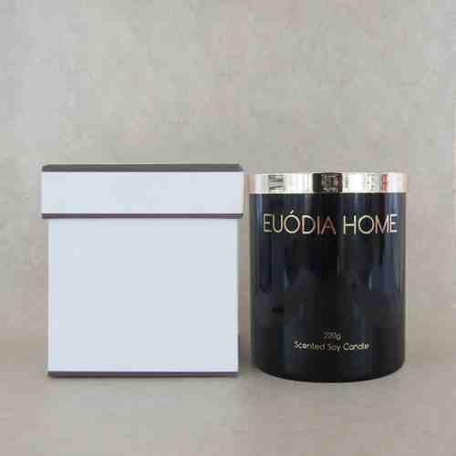 Euodia Home Fresh Lemon Grass  Soy Scented Candle 220gr