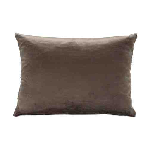 BoConcept Velvet Dark Brown Cushion Rectangle