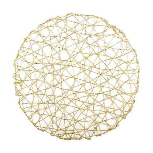 Harriet & Co Gold Foil Linear Dining Placemat