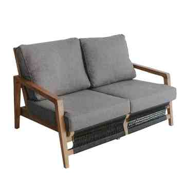 Pineapple Austin 2- Seater Grey