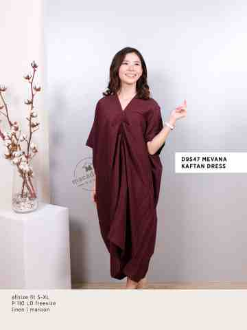 D9547 MEVANA KAFTAN DRESS image