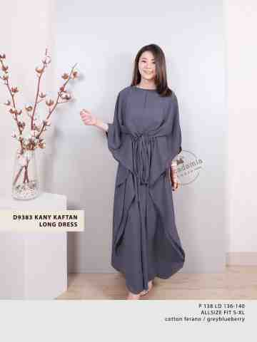 D9383 KANY KAFTAN LONG DRESS (FAST PO READY SENIN 27 MAY) image