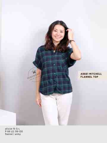 A9661 MITCHELL FLANNEL TOP image