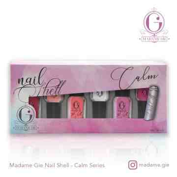 Madame Gie N-Shell Peel Off Set (Isi 6 botol)