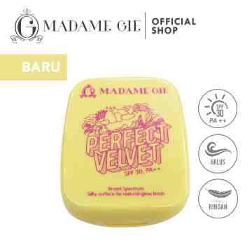 Madame Gie Perfect Velvet SPF 30 Two Way Cake - MakeUp Bedak Padat