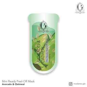 Madame Gie Mini Ready Peel Off Mask - Masker Peel Off