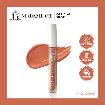 Madame Gie Always On Lip Cream - MakeUp Lip Cream Lipstik