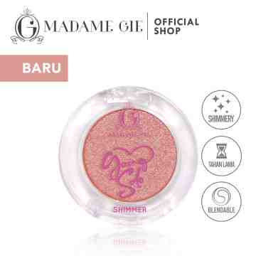 Madame Gie Going Solo Shimmery Pressed Eyeshadow - MakeUp