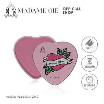 Madame Gie Precious Heart Blush On - MakeUp