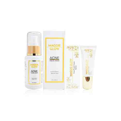 MAGGIE GLOW Acne Paket simple (Acne Pimple + Acne Facial Wash)