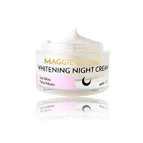 MAGGIE GLOW WHITENING NIGHT CREAM - 10gr