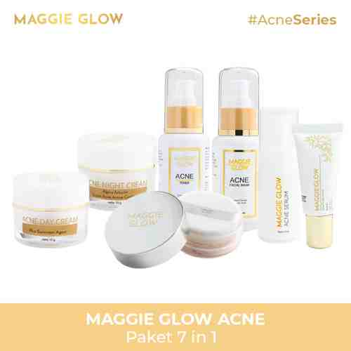 MAGGIE GLOW Acne Series 7 in 1