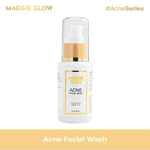 MAGGIE GLOW ACNE FACIAL WASH - 60ml