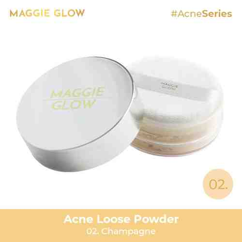 Maggie Glow Acne Loose Powder - 20gr