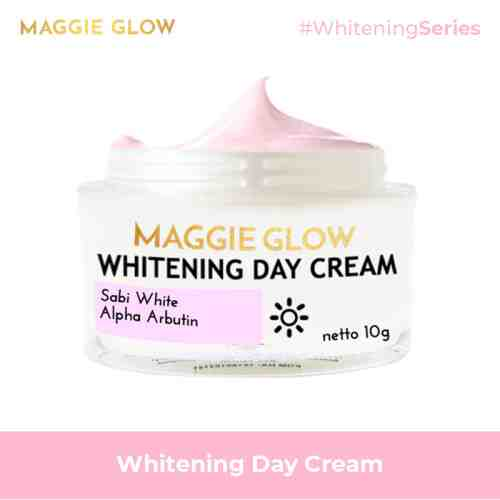 MAGGIE GLOW Whitening Day Cream - 10gr