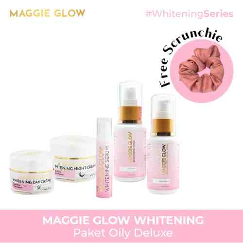 MAGGIE GLOW WHITENING OILY DELUXE