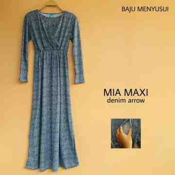 Mia maxi denim arrow