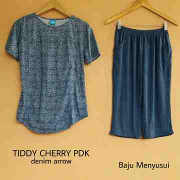 TIDDY CHERRY PDK DENIM ARROW