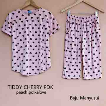 TIDDY CHERRY PDK PEACH POLKALOVE