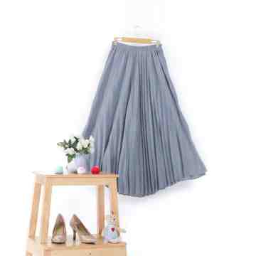 BASIC PLEATS SKIRT image